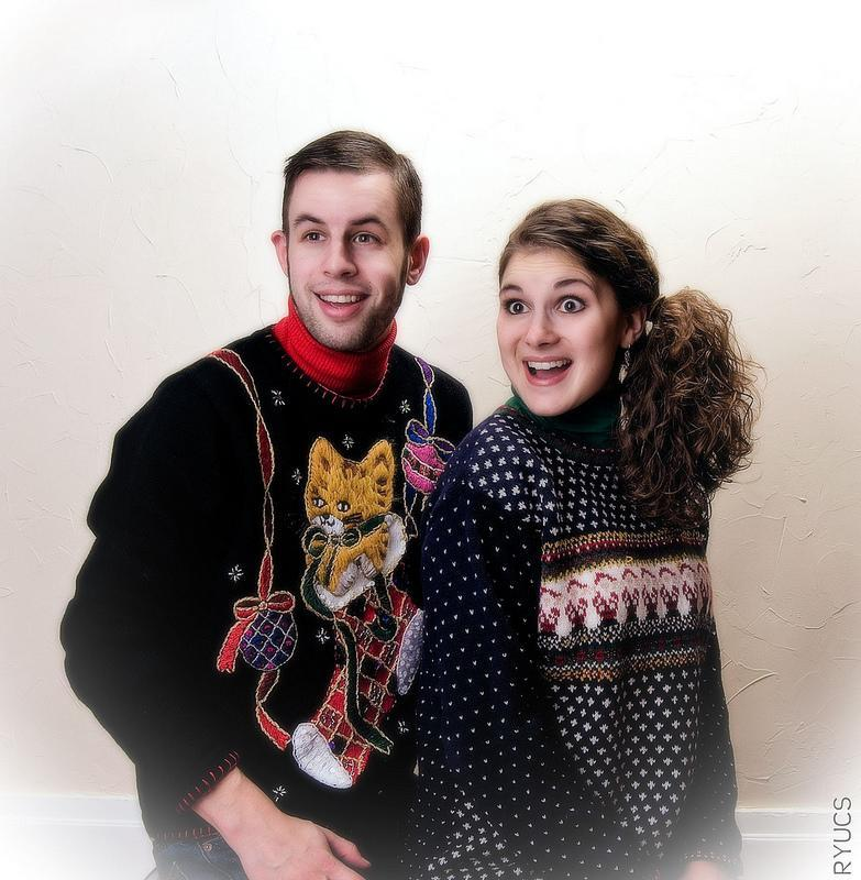 """<div class=""""caption-credit""""> Photo by: Rock Your Ugly Christmas Sweater</div>This is commitment."""