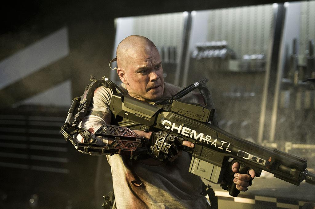"Matt Damon in TriStar Pictures' ""Elysium"" - 2013"