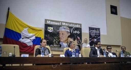 "The FARC delegation accused the government of ""political incongruity"" for refusing to join the  rebels in a ceasefire"