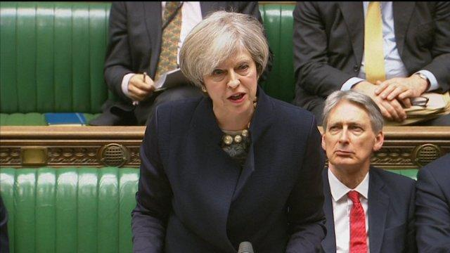 Theresa May Commons speech on Article 50