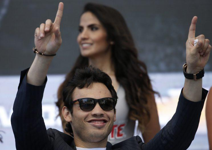 Julio Cesar Chavez Jr. faces the fight of his life against Canelo Alvarez. (AP)