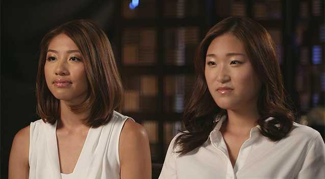 Jieun Bae and Elly Chen might never have teamed up that day if not for the selfless act of Marcia Mikhael. Photo: 7News