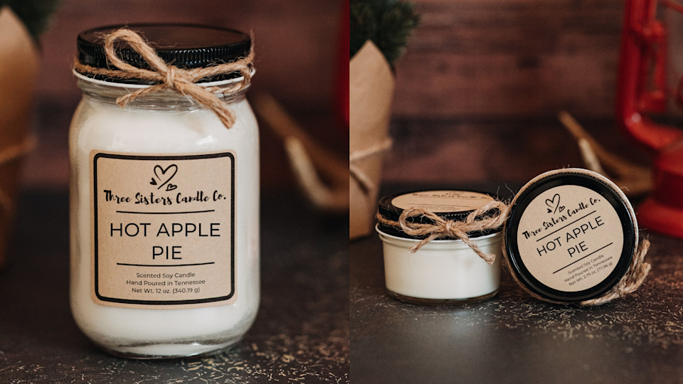 Etsy is a gold mine of fall candles like this one.