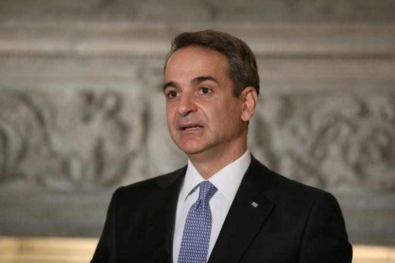 Greek Prime Minister Kyriakos Mitsotakis says Athens enters the exploratory talks 'with optimism and hope'