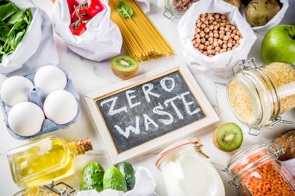 Zero waste shopping and sustainable lifestyle concept. (PHOTO: Getty Images)
