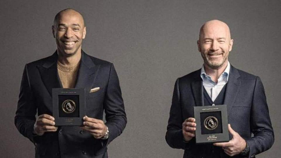 Shearer and Henry inducted into Premier League Hall of Fame