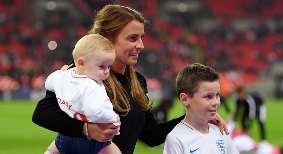 Coleen Rooney has shared a sweet video of her children exercising to Joe Wick's virtual PE class (Getty Images)