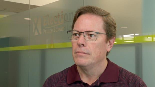 'So we like to be as transparent and non-partisan as we can with everything we do at elections,' says Paul Alan, operations manager of Elections P.E.I. (Travis Kingdon/CBC - image credit)