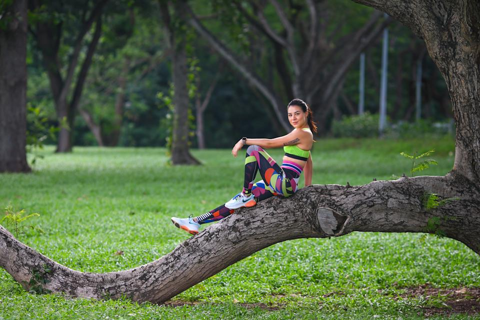 Singapore #Fitspo of the Week: Carla Dunareanu. (PHOTO: Cheryl Tay)