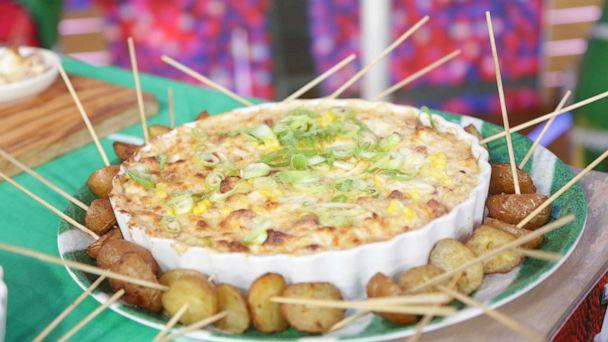 PHOTO: Chef Jamika Pessoa's low country crab dip. (ABC News)