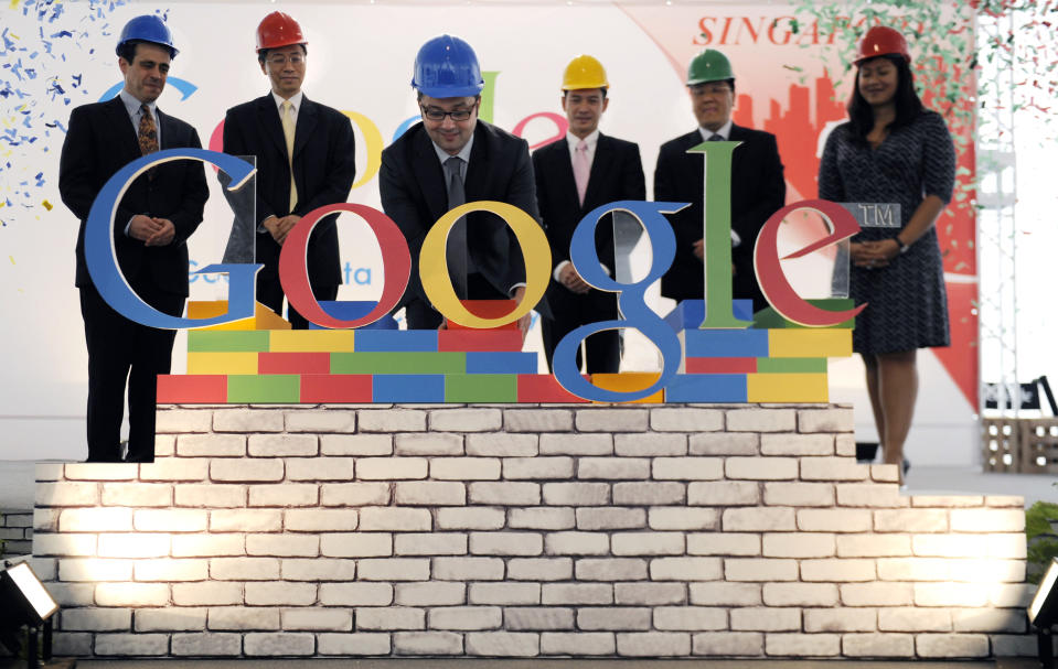 No.5: Googlers, as the employees are called, joke that they gain weight after joining the company. They would, given the sumptuous meals - on the house - Google provides. But Google India is also about the mind, and the 'breakout rooms' - rooms where Googlers go to 'think' - cater to just that.