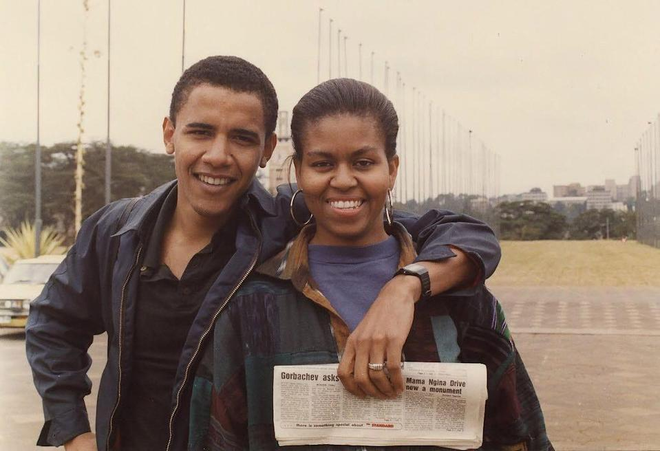 <p>The former POTUS and FLOTUS first met in 1989, while they worked together at a Chicago-based law firm. Michelle, who was also a Harvard Law alumna, was assigned to be his mentor. </p>