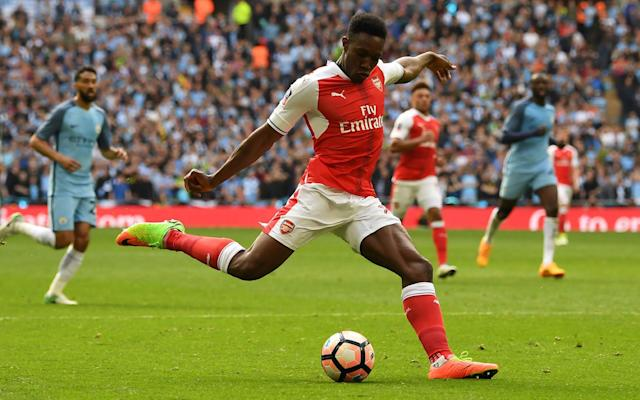 <span>Has Danny Welbeck improved during his time at Arsenal? No, he has not</span> <span>Credit: afp </span>