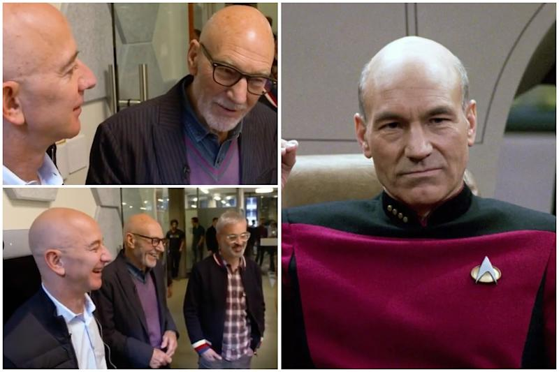 Star Wars Actor Sir Patrick Stewart Surprised to Find 'Captain Picard' is Alexa's Favourite