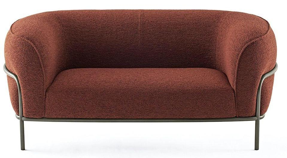 "<p>With its ample, cosy curves pinched into place by a delicate metal frame, this sofa by Federica Biasi manages to be both generous and restrained in its design. £6,144, <a href=""https://www.gallottiradice.it/en-us/products/home/sofas-and-armchairs/sophie"" rel=""nofollow noopener"" target=""_blank"" data-ylk=""slk:gallottiradice.it"" class=""link rapid-noclick-resp"">gallottiradice.it</a></p>"