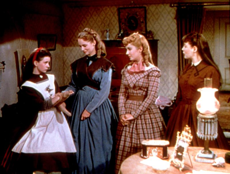 O'Brien with her co-stars Janet Leigh, Elizabeth Taylor and June Allyson in the 1949 version of 'Little Women.' (Photo: Courtesy Everett Collection)