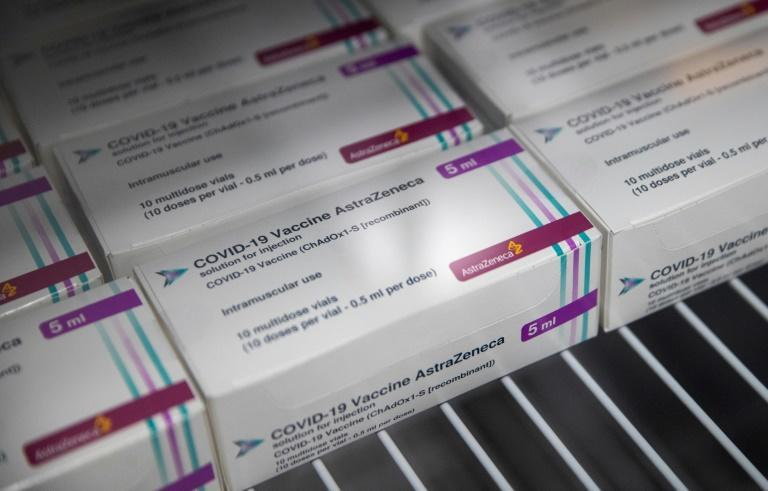 One million doses of AstraZeneca's vaccine are expected this month, the first shipment of 20 million secured doses
