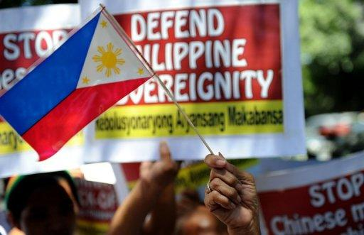 The Philippines argues the Scarborough shoal, also claimed by China is within the country's exclusive economic zone