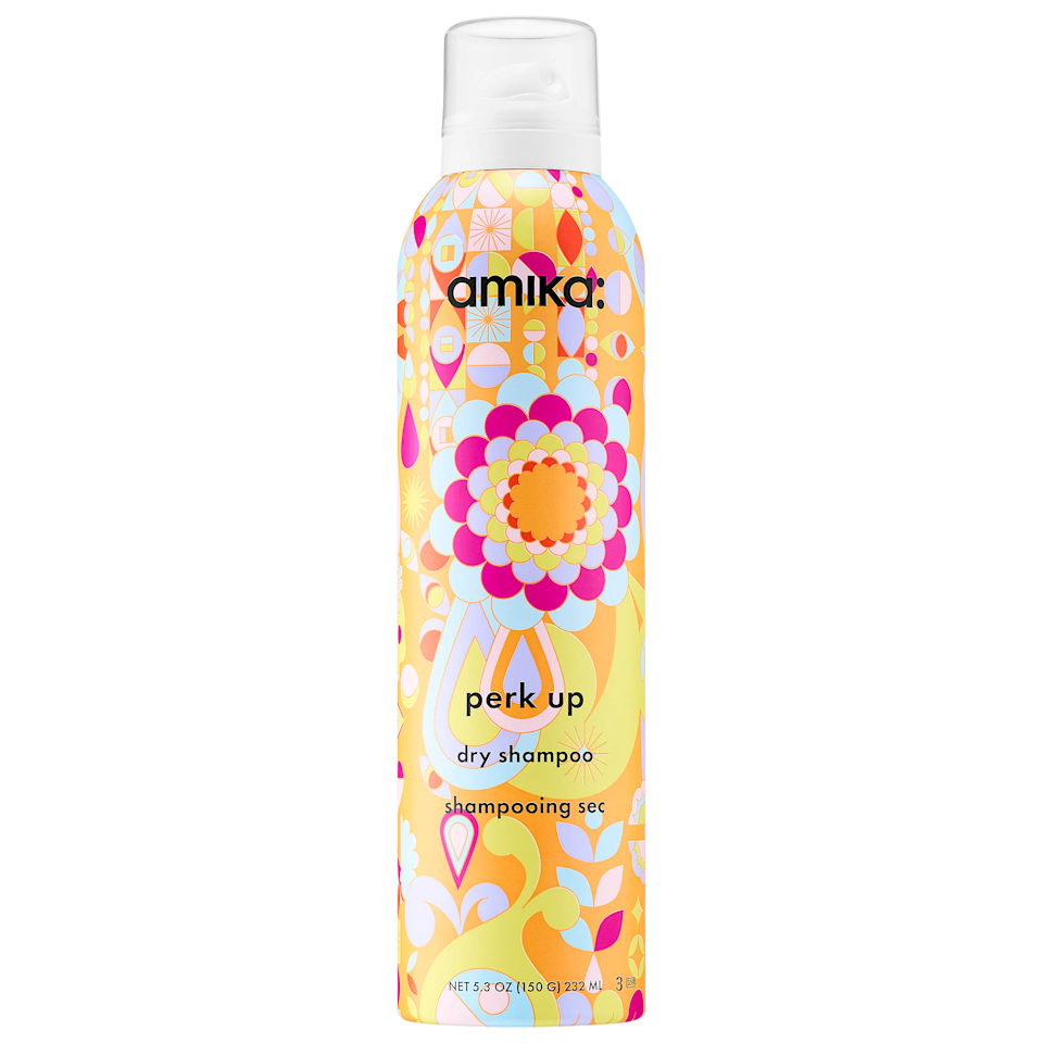 """I never liked dry shampoo until I tried this one. It's truly perfect. It has a super-fine mist, so it feels like there's absolutely no product in my hair, and like the name suggests, it soaks up all oil to perk up my hair. It smells so good—like warm laundry and fresh flowers—that I'll even spritz a little on clean hair. <em>—Bella Cacciatore, beauty associate</em> $25, Sephora. <a href=""""https://www.sephora.com/product/perk-up-dry-shampoo-P393281"""">Get it now!</a>"""