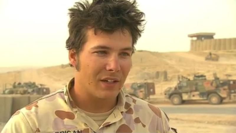 Michael Lorrigan, while on deployment in the Middle East as an Australian Army Officer. Photo Credit: Michael Lorrigan/ADF
