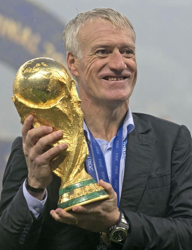 France head coach Didier Deschamps has won the World Cup as both player and manager and is attempting to complete a similar double at Euro 2020
