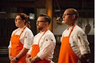 """<p>When contestants are accepted onto the show, they're given the filming dates and must confirm availability for the entirety of the season—which is usually around <a href=""""https://www.seattlemet.com/eat-and-drink/2012/07/a-seattle-chef-pulls-back-the-curtain-on-top-chef-july-2012"""" rel=""""nofollow noopener"""" target=""""_blank"""" data-ylk=""""slk:six weeks"""" class=""""link rapid-noclick-resp"""">six weeks</a>, a former culinary producer said in 2012.</p>"""