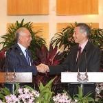 <p><img/></p>Prime Minister Lee Hsien Loong on Tuesday (13 December) will witness the signing of the bilateral agreement for the Kuala Lumpur-Singapore High Speed Rail (HSR) project...