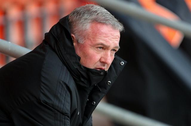 Paul Lambert's team have had fixtures against Northampton and AFC Wimbledon postponed (Richard Sellers/PA).