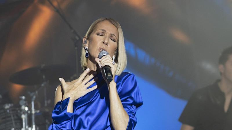 Celine Dion Gets Visibly Emotional Paying Tribute to Her Late Mother During Concert