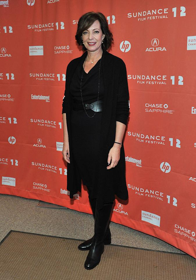 """Allison Janney at the 2012 Sundance Film Festival premiere of """"Liberal Arts"""" on January 22, 2012.<br>"""