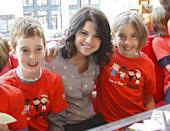 <p>Selena launched the first ever Trick-or-Treat for UNICEF campaign in NYC.</p>