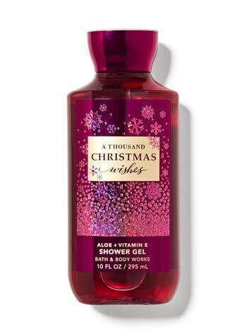 <p><span>Bath &amp; Body Works A Thousand Christmas Wishes Shower Gel</span> ($8, originally $14)</p>