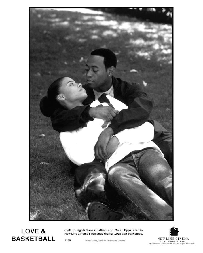 <p>The two childhood sweethearts always wanted to be pro basketball stars, but struggled with their feelings along the way. Omar Epps and Sanaa Lathan starred in this romantic sports story. Things get tense when the two deal with high school pressures. They reconnect when they both get accepted to USC and finally make love. They continue working through challenges as athletes in college, but eventually split up. When Quincy suffers a knee injury, Monica flies home to see him. He is engaged to someone else, but calls it off after playing a basketball game with Monica. The two get married and their daughter is poised to be the next basketball star.</p>