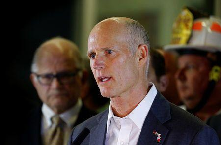 Florida Gov. Rick Scott, who is running for U.S. Senate, filed multiple lawsuits Sunday regarding the election. (Photo: Reuters)