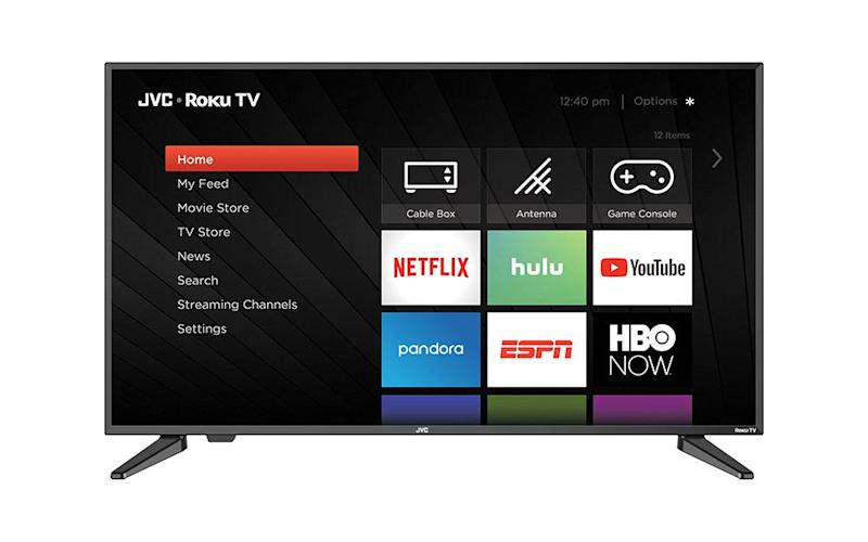 Use the free Roku app to search by voice. (Photo: Walmart)