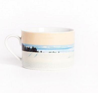 "If you've picked the name of a proud Atlantic Canadian, or simply someone who appreciates a mug of hot tea and our country's beautiful vistas, this stylish teacup and saucer will be well-received. <a href=""http://www.drakegeneralstore.ca/gifting/holiday/landscape-tea-cup-saucer-set.html"" target=""_blank"">Get it here.</a>"