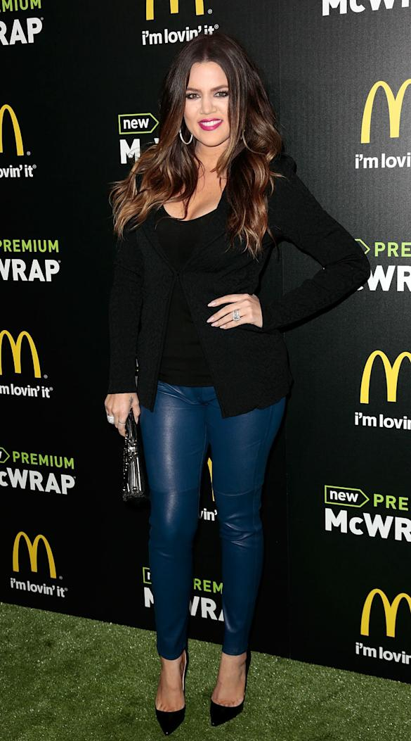 Tough Cookie! Khloe Kardashian Credits 'Boxing For Shedding Weight'