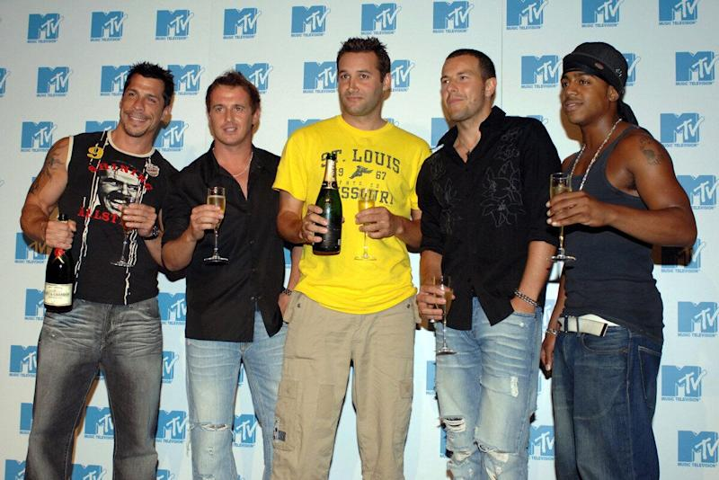 Long before the days of 'The Big Reunion' was 'Totally Boyband', an MTV series that tried to make an ultimate boyband out of former 90s stars. He walked away from the group after falling out with the other members of the band, including Dane Bowers and S Club 7's Bradley McIntosh.