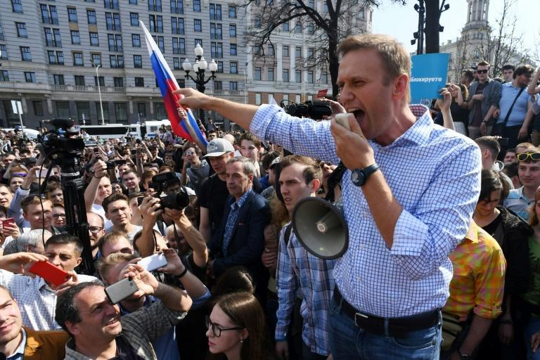 For around a decade, Navalny has been the symbol of Russia's protest movement, after rising to prominence as an anti-corruption blogger