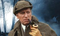 <p><em>The Hounds of Baskerville</em> (1981) was a BBC adaptation of the Sherlock story – about an attempted murder inspired by the legend of the eponymous hounds – reunited Baker with his Doctor Who producer Barry Letts. </p>