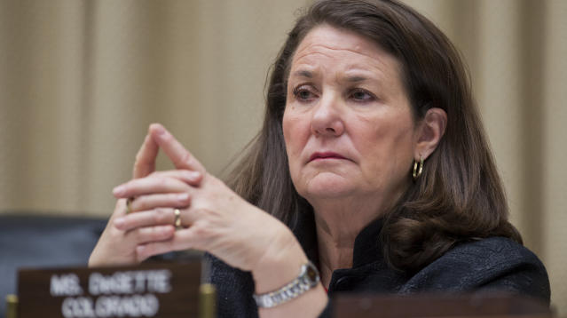 Rep. Diana DeGette (D-Colo.) on Monday accused a former congressman of assaulting her while they were both serving in the House.