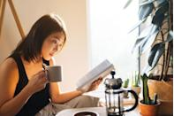 """<p>Agree what book you're both going to read and set a date for your book club. Write questions and notes on the plot and characters and discuss your answers. Why not <a href=""""https://www.elle.com/uk/life-and-culture/g32141605/best-books-to-read/"""" rel=""""nofollow noopener"""" target=""""_blank"""" data-ylk=""""slk:start with a classic"""" class=""""link rapid-noclick-resp"""">start with a classic</a> neither of your have read?</p>"""