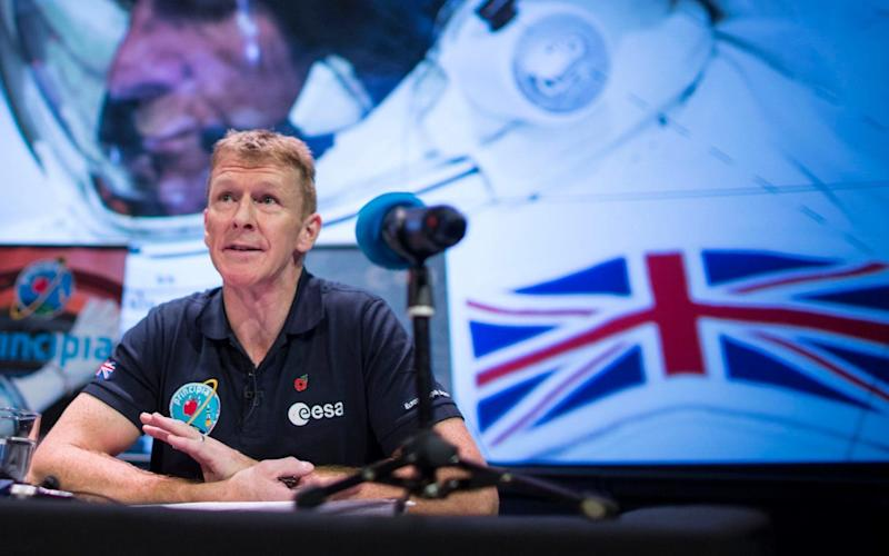 British astronaut Tim Peake has been the face of Britain's efforts in space  - Warren Allott Photos