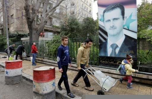 Syria aircraft strike rebels near water source