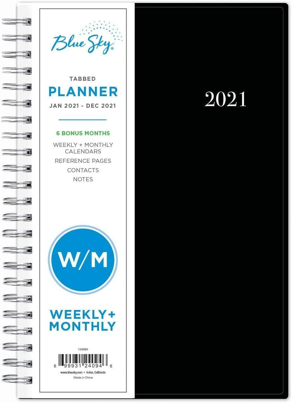 <p>You can't go wrong with this <span>Blue Sky 2021 Weekly & Monthly Planner</span> ($8).</p>