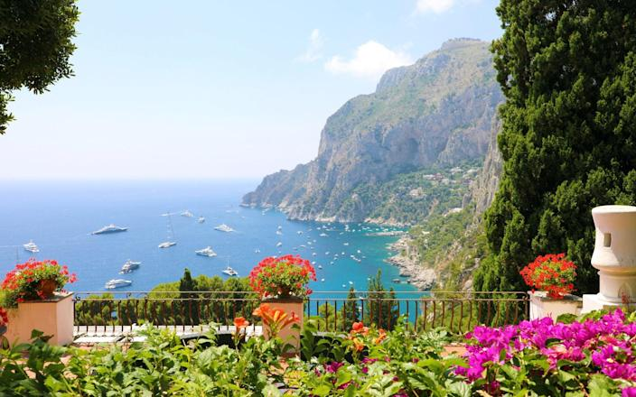 Capri is hoping to brand itself as 'Covid-free' - Getty
