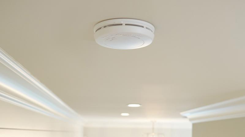 A home with working smoke alarms cuts the fire fatality risk in half.