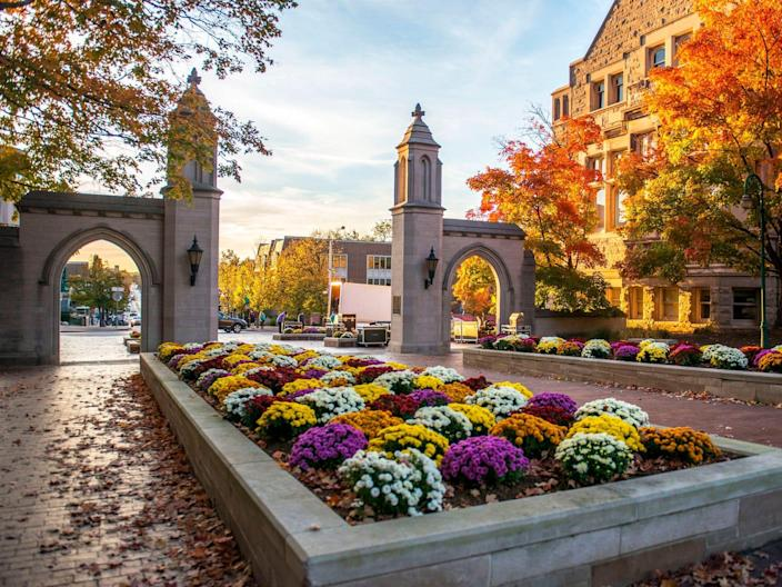 "Indiana University Bloomington. <p class=""copyright"">Ying Luo/Getty Images</p>"