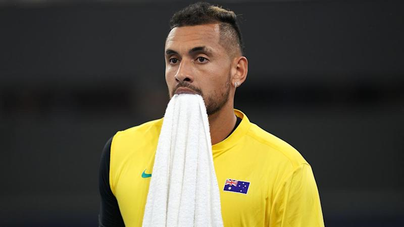 A back complaint ha ruled Nick Kyrgios out of Australia's ATP Cup clash with Canada
