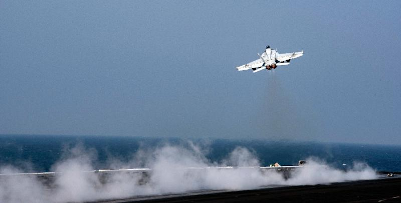 This US Navy photo shows an F/A-18E Super Hornet in 2016